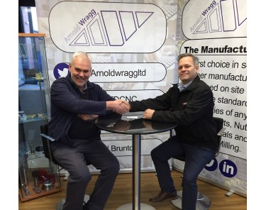 Simon Nowill Kyocera's Sales Engineer visits Arnold Wragg